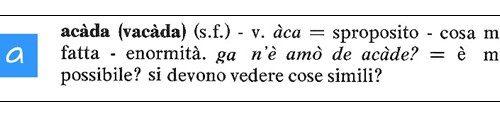 Dizionario del Dialetto di Treviglio