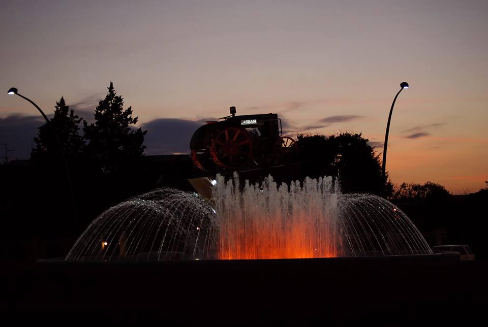 Treviglio tramonto (3)