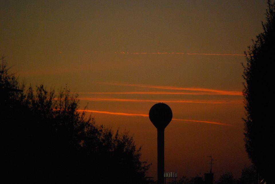 Treviglio tramonto