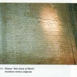 1992 treviglio Chiesa San Carlo muratura antica originale