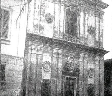 Facciata Chiesa S.Agostino ( Santuario )