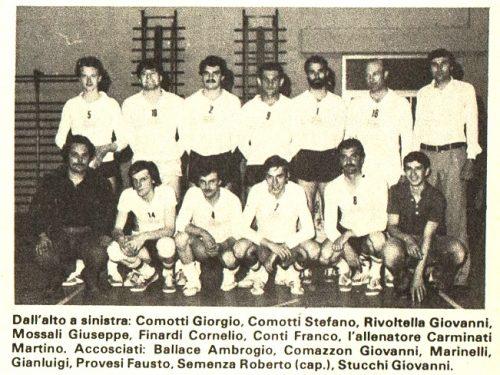 OR.SA Pallavolo Treviglio Maggio 1976