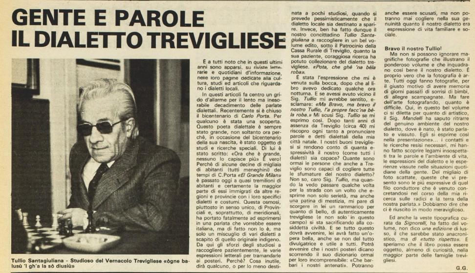 Gente e Parole T. Santagiulina