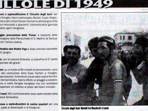 Pillole di Treviglio :  1949 Gino Bartali