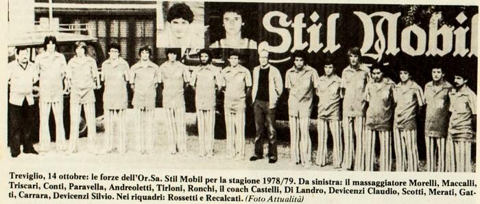 Treviglio Pallacanestro : Or.Sa Stil Mobil 1978-79