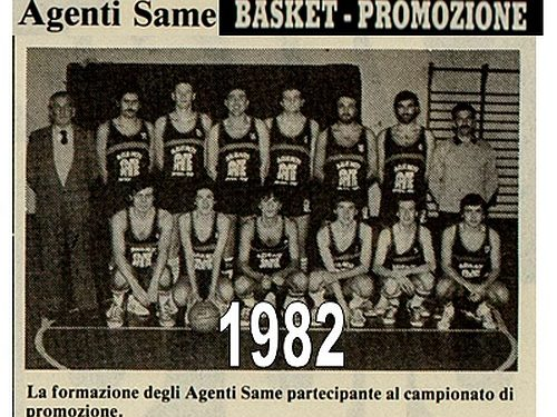 Agenti Same 1982 Basket
