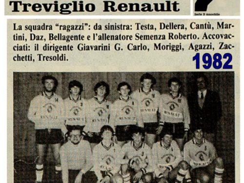 Treviglio Pallavolo Renault 1982