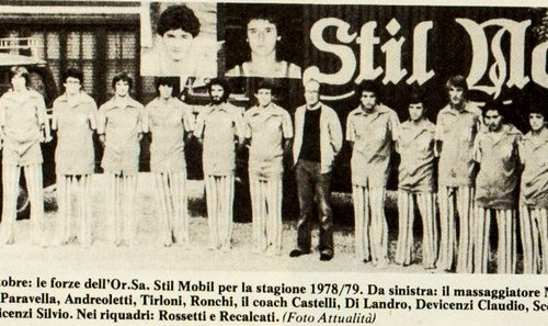 Treviglio Pallacanestro : Or.Sa Stil Mobil 1978