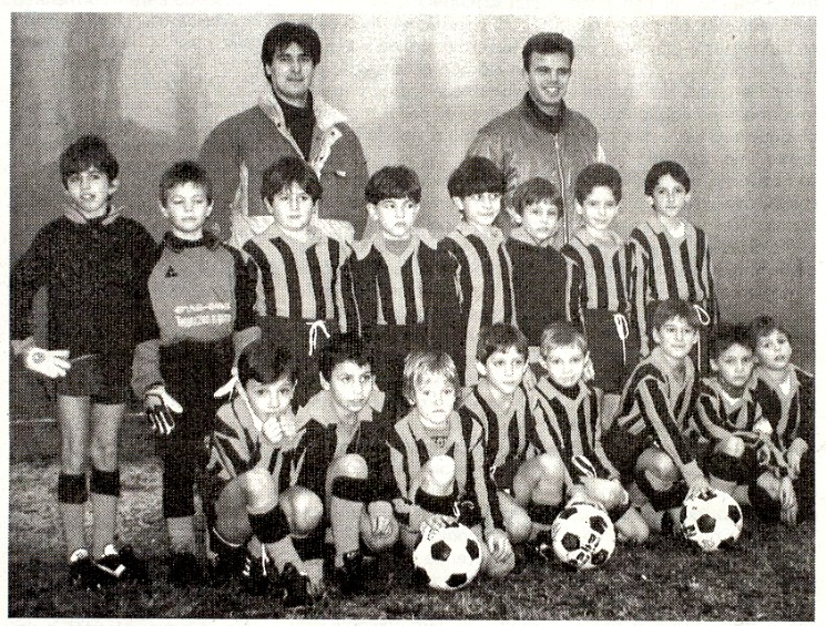 Treviglio 1993 : Squadra Pulcini Zanconti