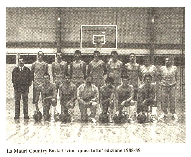 Mauri Country Basket 1988-89