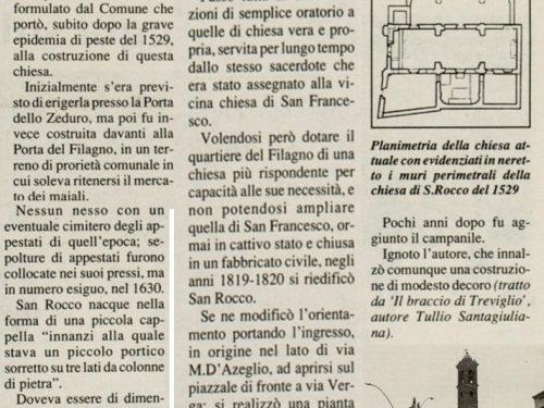 La storia della Chiesa San Rocco di Treviglio