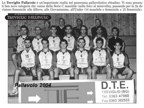 Pallavolo Treviglio 2004
