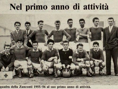 La Squadra della Zanconti 1955-56
