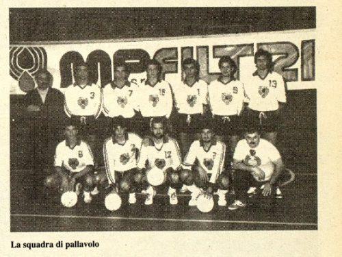 Pallavolo 1988-89 Treviglio MP Filtri