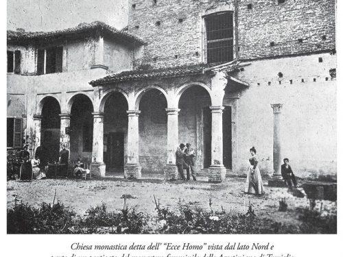Vista lato nord monastero femminile delle Agostiniane di Treviglio 1899