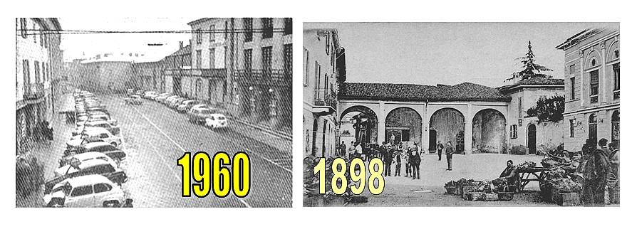 1960 Piazza Garibaldi - 1898 Portico S.Marta