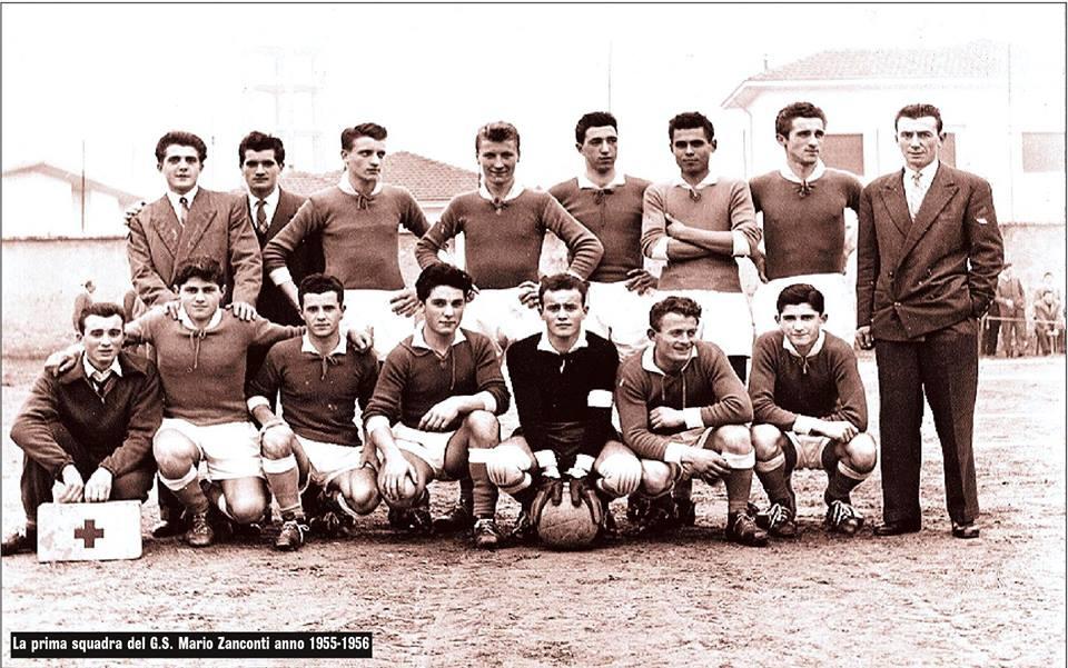 La prima Zanconti 1955-56