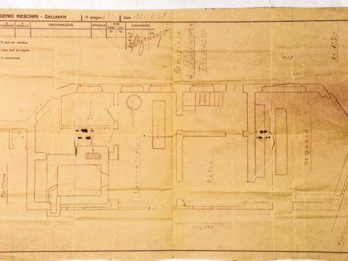 1932/33 Treviglio : Polenghi, richiesta permessi al Comune
