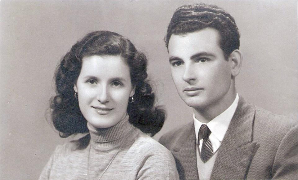 Gino Maccarini e moglie