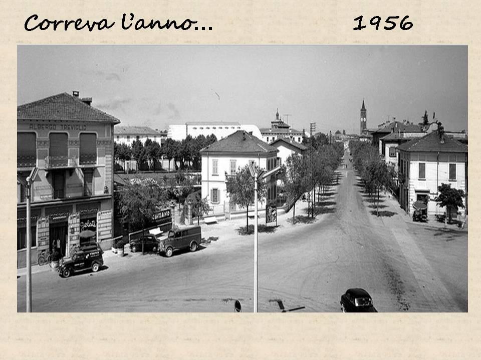 Treviglio 1956 Viale De Gasperi
