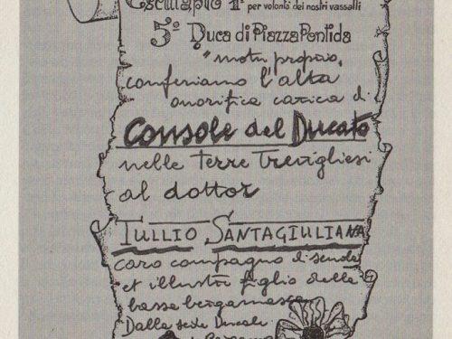 Treviglio  30-9-1966 Dott. Tullio Santagiuliana