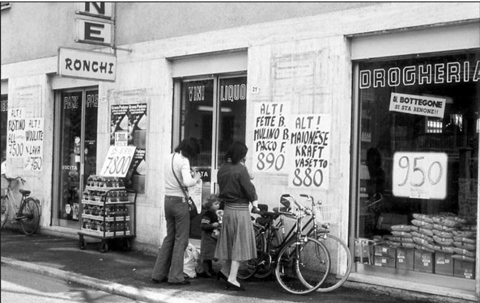 Treviglio : Bottegone Ronchi 1980