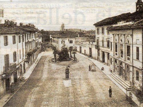 Piazza Garibaldi con le Palme