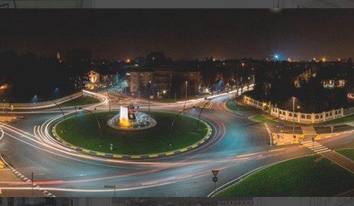 Panoramica Largo Vittorio Emanuele Treviglio