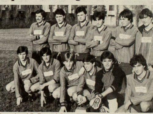 Zanconti 1984 – 85