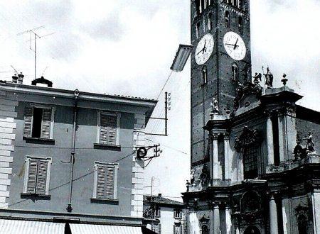 Treviglio Basilica e Piazza L.Manara Anni-50-60