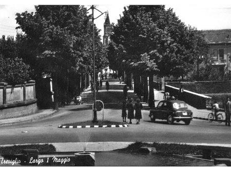Treviglio Largo 1° Maggio anni 50
