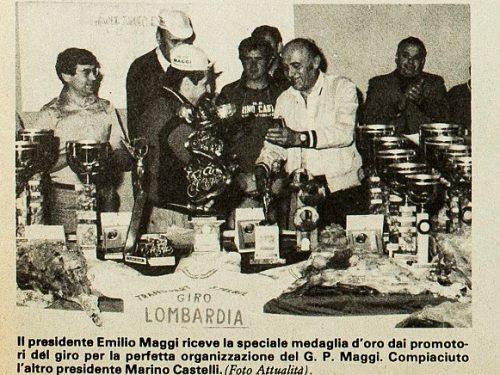 Treviglio : GP. Maggi Ciclismo 1976