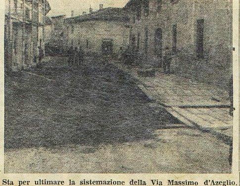 Treviglio Agosto 1960, via M.D'Azeglio
