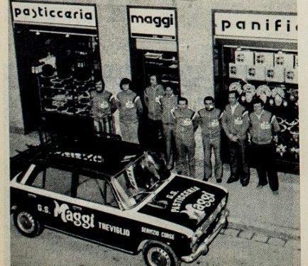 G.S. Maggi Treviglio Ciclismo 1979
