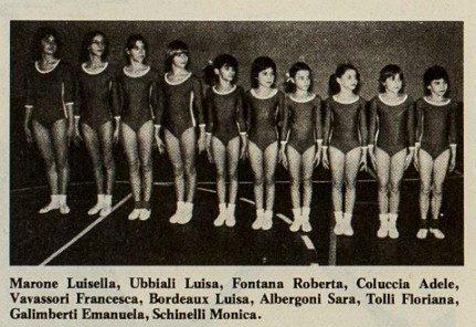 Ginnastica Artistica 1979