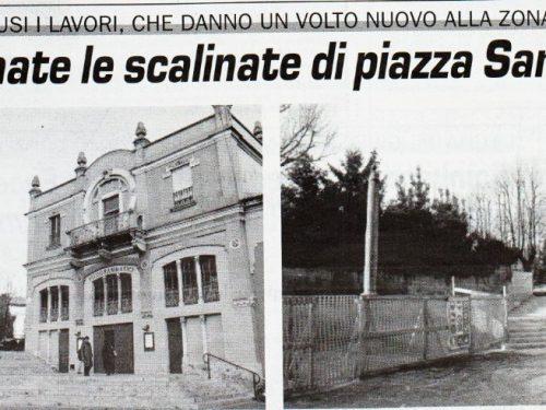 Piazza Santuario anno 2000