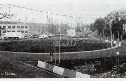 Treviglio , Rotonda Baslini anno 2000