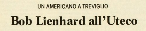 "Robert "" Bob"" Lienhard Uteco Treviglio"