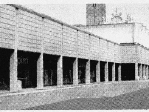 Treviglio Gennaio 2000 Supermercato SMA