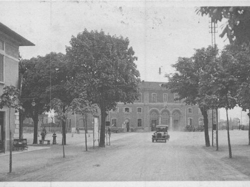 Treviglio 1934 : La Stazione Centrale
