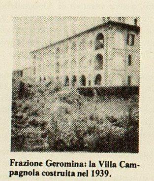 Villa Campagnola Geromina 1939