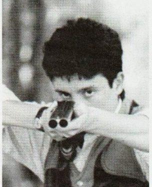 Michele Bornaghi Campione Italiano tiro a volo anno 2000