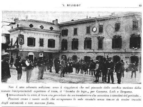 Treviglio : La fermata del Gamba de Lègn