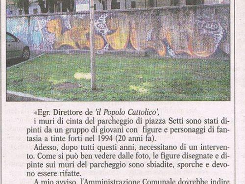 Murales Piazza Setti 2014