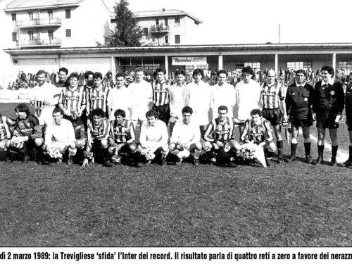 Biglietto Amichevole Inter Trevigliese 1989