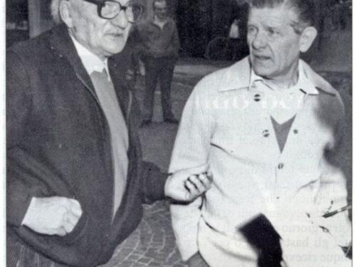 Il Maestro Giberti e il Sig. Greggia