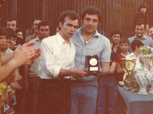 Premiazione Torneo Same anni 70